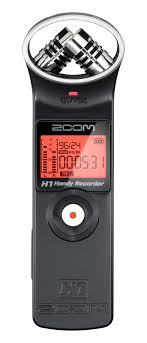 Portable Digital Audio Recorder Comparison Chart Zoom H1 Handy Recorder Zoom