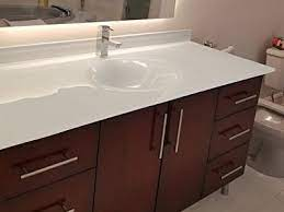 integrated glass sinks colored glass