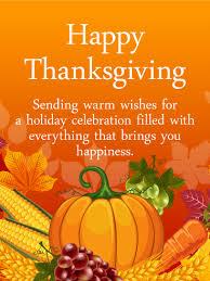 Heartfelt Happy Thanksgiving Card Birthday Greeting Cards By Davia