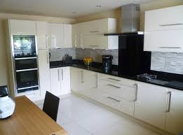 flooring ideas for white gloss kitchen. kitchen tiles black worktop wooden units with granite effect worktops and wall flooring ideas for white gloss