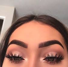 rose gold smokey eye makeup looks min