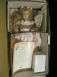 GORHAM PORCELAIN - GIFTS OF THE GARDEN -PRISCILLA LITTLE GIRL DOLL- NIB +  COA | eBay