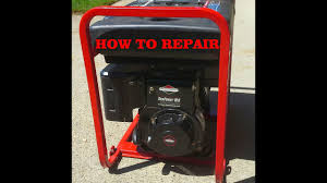 HOW TO TROUBLESHOOT a GENERATOR that WON'T START or RUN - BRIGGS and ...