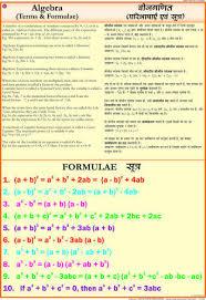 Algebra Mathematics Charts Science Charts