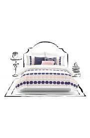 Kate Spade Bedding Kate Spade New York Ikat Dot Comforter Sham Set Nordstrom