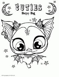 Small Picture Awesome Littlest Pet Shop Coloring Pages Littlest Pet Shop