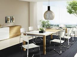 Pendant Lamp Over Dining Table