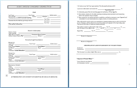Child Medical Consent Form Unique Simple Temporary Custody Letter ...