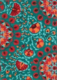 turquoise and orange rug incredible area wayfair throughout 22