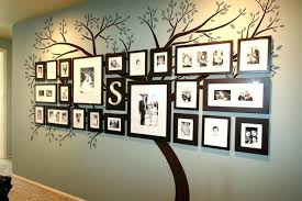 attractive design ideas family tree decor for wall photos com timber large photo frames decorative