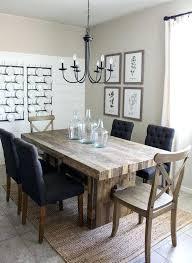 modern farmhouse chandelier dining room kitchen