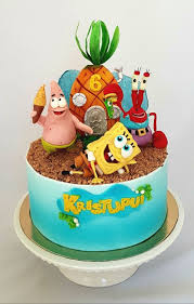 Spongebob Cake Cake By Cake Loves Vanilla Cakesdecor