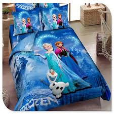 Blue Frozen Bedding Elsa Anna Bedding for Girls 100% Cotton Frozen ... & Blue Frozen Bedding Elsa Anna Bedding for Girls 100% Cotton Frozen Duvet  Cover Sheet Set Adamdwight.com