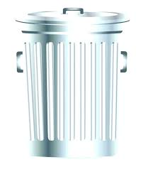 white trash can. Galvanized Steel Garbage Can Canada White Trash Tin Vector Metal Free Download Clips 4 Gallon