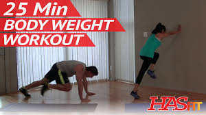 25 min insane body weight workout for women men workouts without weights bodyweight exercises you