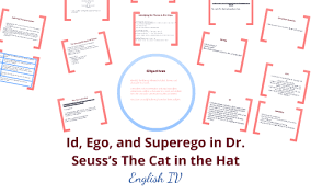 Id Ego And Superego In Dr Seusss The Cat In The Hat By