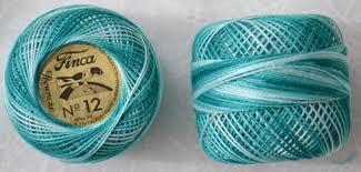 Finca Perle Cotton Color Chart Presencia Finca Perle 12 Egyptian Cotton 5 Gram 9785 Shaded Mint