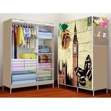 3d wardrobe closet clothes organizer big size rb 8802 erfly