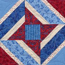 Single-block quilts - with a twist! (+ sale!) - Stitch This! The ... & Ribbon Star quilt block Adamdwight.com
