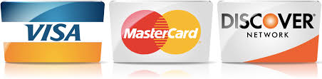 Image result for real small logos visa, mastercard, discover