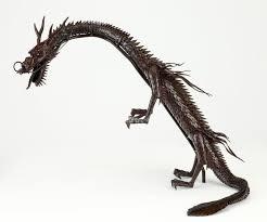 Munekazu Myochin Articulated Jizai Figurine Of A Dragon