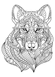Wolf Coloring Pages To Print Realistic Coloring Pages Wolf Coloring