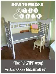 repurposed furniture diy. 10 easy upcycling ideas page 2 of crib deskkids chalkboarddiy cribsick kidsrepurposed furniturediy repurposed furniture diy