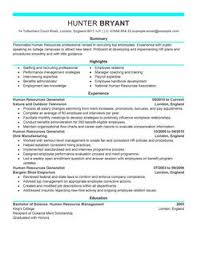 Sample Resume Hr Generalist Resume Sample For Hr Manager Phr