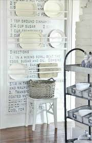plate rack with recipe