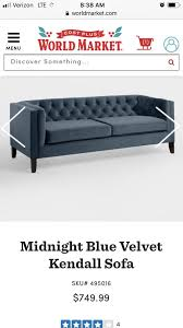 kendall velvet sofa and chair in