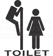 toilet vinyl decal sticker sign zoom