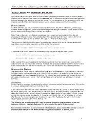 Citing References For Resume Plks Tk