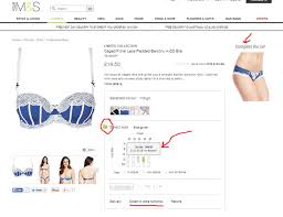 Marks And Spencer Bra Size Chart M S Launches New Website Focuses On Curation Clustering
