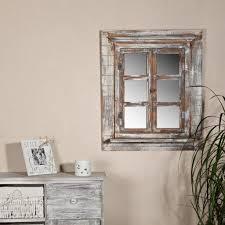 Wandspiegel Spiegel Bilderrahmen Fensterladen Real
