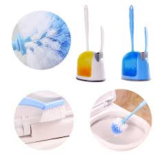 toilet bowl brush. Toilet Cleaning Brush Handle Scrubber Home Bath CleanerTools Compact Bowl And Small Sink N