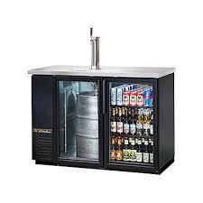 true tdb 24 48g hc ld draft beer cooler 1 1 2 keg 1 faucet column 2 glass doors