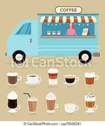 Because australia's start up operators and small business owners need an amazing, well built coffee trailer at a good price…. Coffee Shop Trailer With Seller Types Of Beverage Coffee Business In Trailer Vector Woman Selling Beverages Of Different Canstock