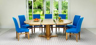 round and oval dining table designs