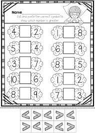Kindergarten Cut And Paste Numbers To 20 Worksheets. Kindergarten ...