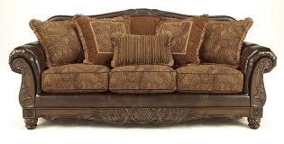 Living Room Antique Furniture Buy Ashley Furniture 6310038 6310035 Set Fresco Durablend Antique