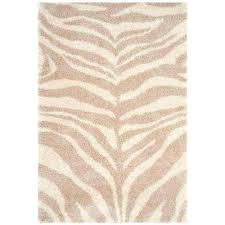 zebra print area rug ivory beige 5 ft x 8 ft area rug zebra print area rug