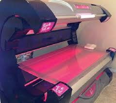 Our Faster level tanning beds are spacious and provide a unique