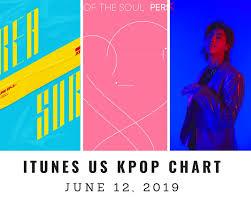 Itunes Us Itunes Kpop Chart June 12th 2019 2019 06 12