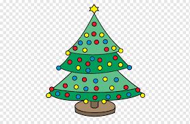 christmas tree line drawing christmas