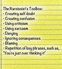 Narcissistic Behavior Patterns