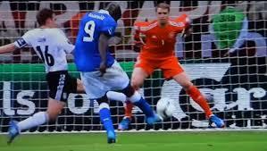 Risultati immagini per gol balotelli 28 giugno 2012