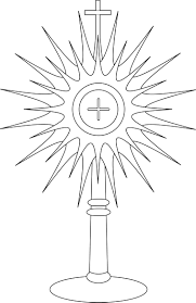 Monstrance Coloring Page Google Search Line Drawings For 1578 Best Inkleuren Images On Pinterest Coloring Books Drawingsll L