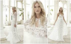 wonderfully romantic wedding dresses the needle thread spring
