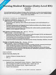 Nurse Resume Classy Entry Level Registered Nurse Resume Ecza Solinf Co Trenutno