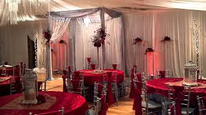 red and silver table decorations. Silver Red And Gold Wedding Youtube Table Decorations O